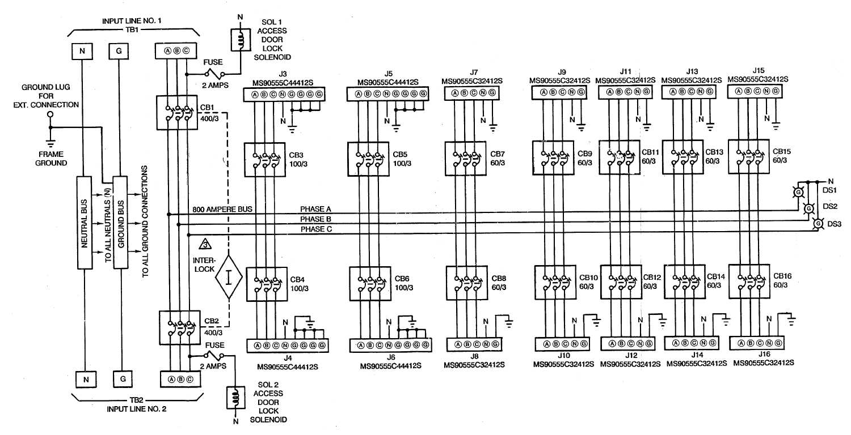 Circuit Panel Schematics Circuit Breaker Panel Diagram Wiring