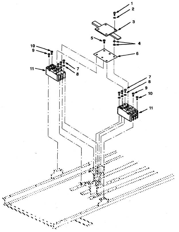 Figure 5-3. 400 Amp Circuit Breaker Assembly.