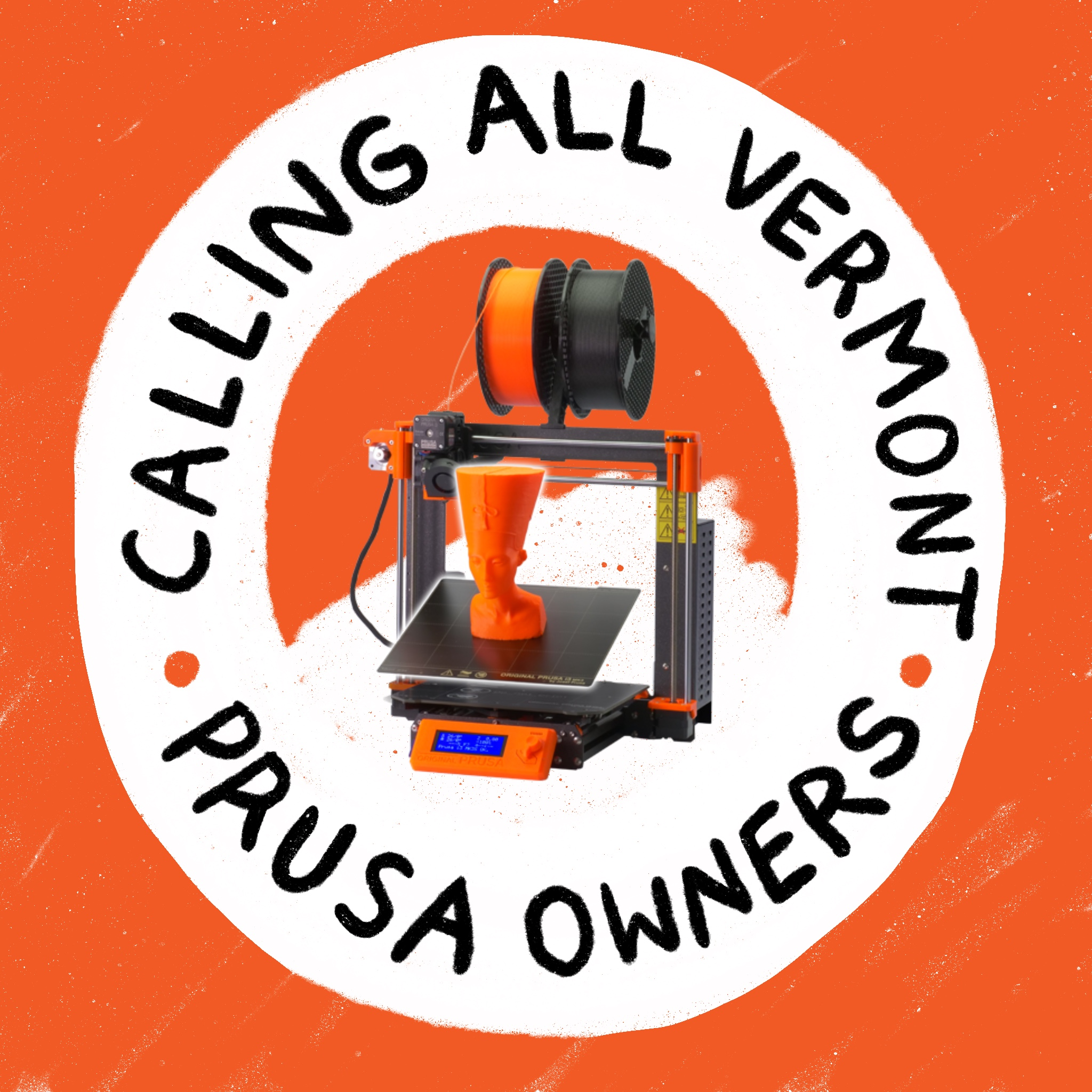 Calling all Vermont Prusa printers! Generator needs your help.