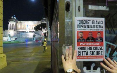 Terroristi a Roma? Frontiere chiuse, città sicure!
