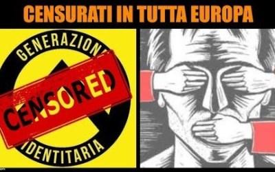 Censurati in Italia e tutta Europa: intervista agli identitari (video)