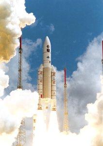 Ariane rocket launch