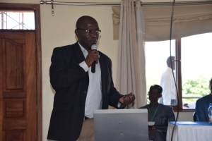 Dr. Omemo (JOOUST) discusses the connections between livestock, water and public health