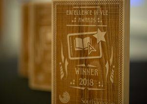 VLE Awards trophy 1