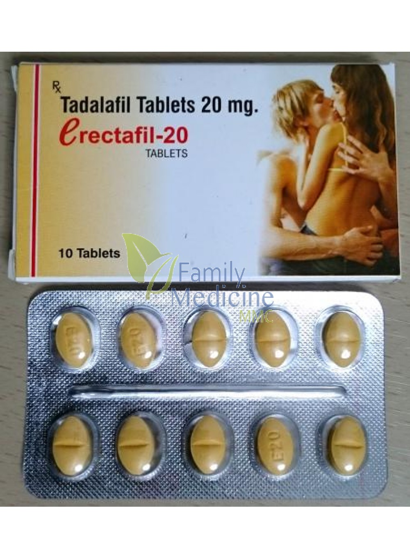 Buy Erectafil (Tadalafil) 20mg   Generic Cialis Online ...