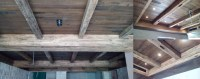 RECLAIMED OAK BEAMS, WALL SECTIONS PLANKS AND SIDING