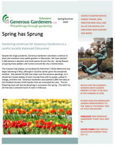 Spring-Summer 2020 Newsletter