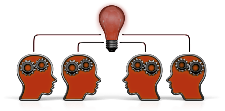 outline_heads_teamwork_idea_12328