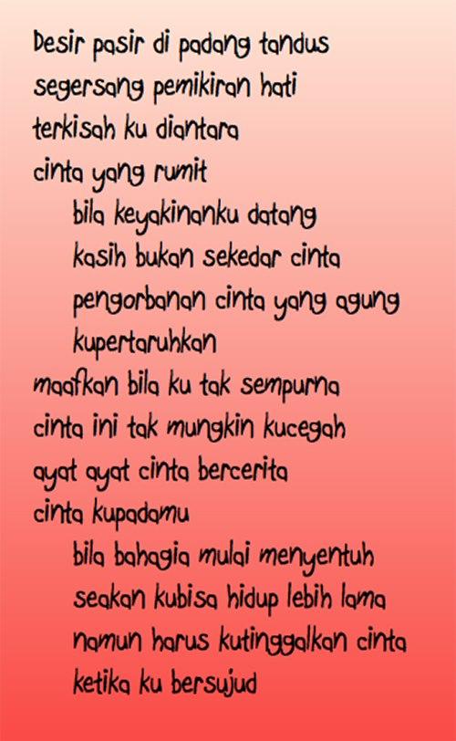 PuisiIndahTentangCinta  Generus Indonesia