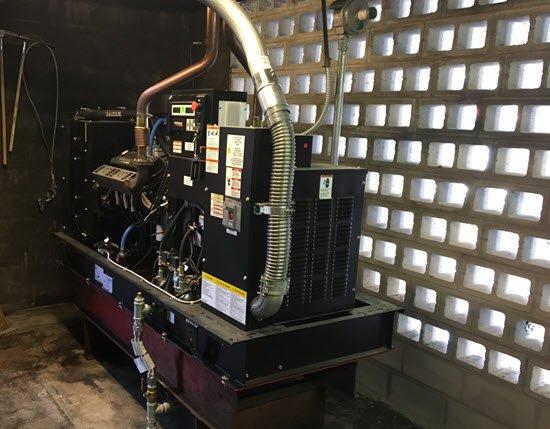 Natural Gas Florida Condo generator conversion