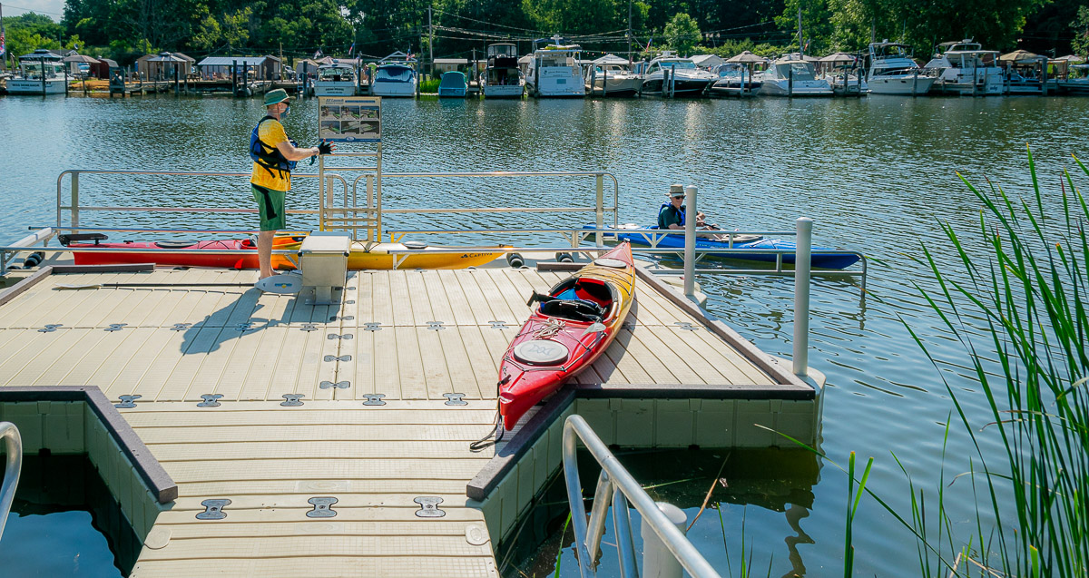 The Story Behind the Petten Street Access Dock