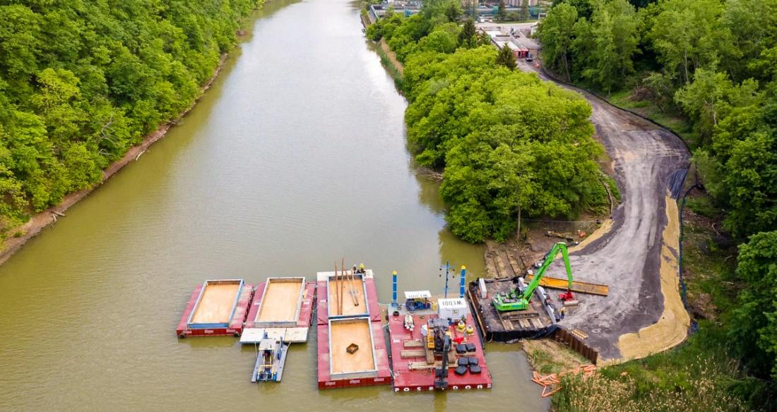 NYSDEC Begins Genesee River Cleanup