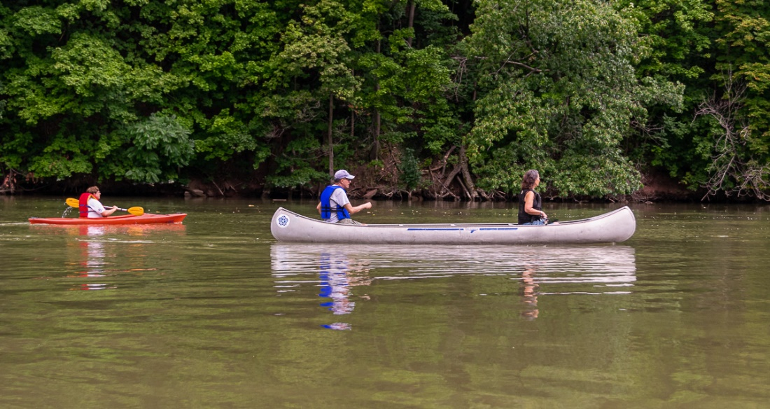 Summer Paddles on the Genesee