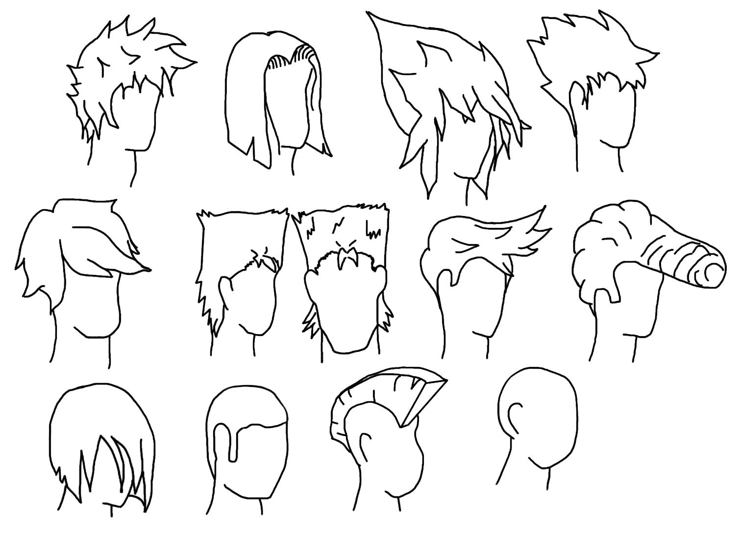 Easy Cartoon Hairstyles