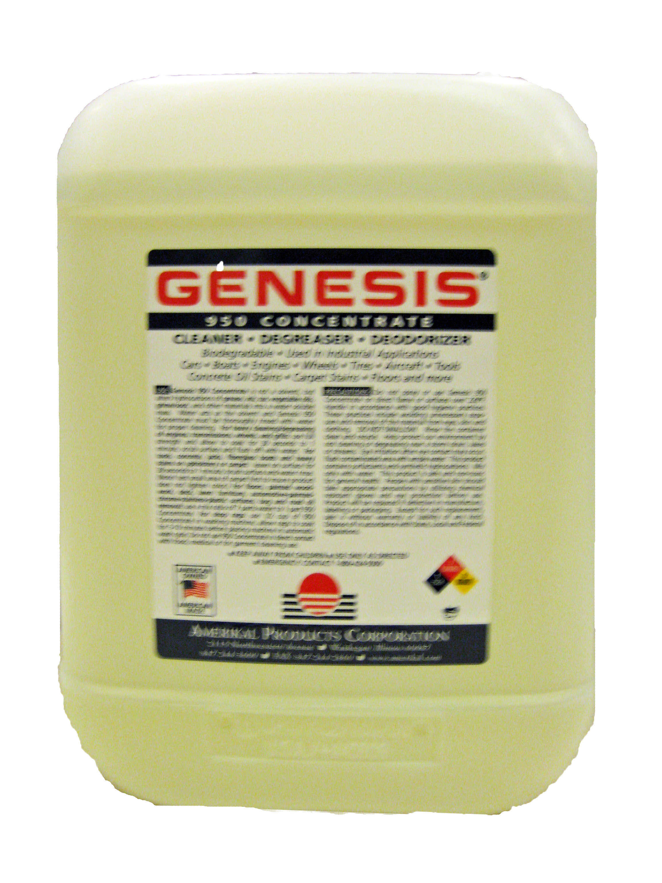 Genesis 950 Carpet Cleaning Solution and All Purpose Green