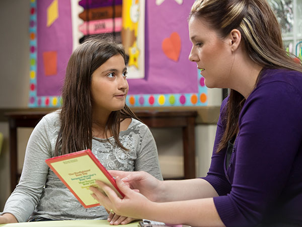 Genesis ABA Therapy Sacramento girl with therapist