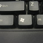 The Ctrl, Windows, and Alt keys.