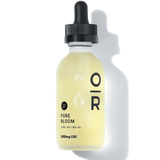 Pure Bloom Mint Broad Spectrum CBD Oil by Onyx & Rose cover