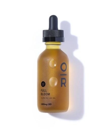 Full Bloom Mint Full Spectrum 1000mg CBD Oil by Onyx & Rose