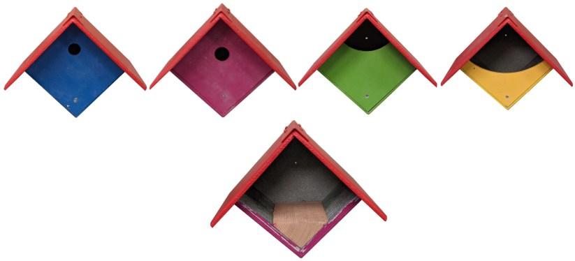 Our full range of garden nest boxes