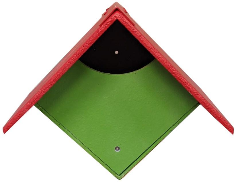Green garden nest box