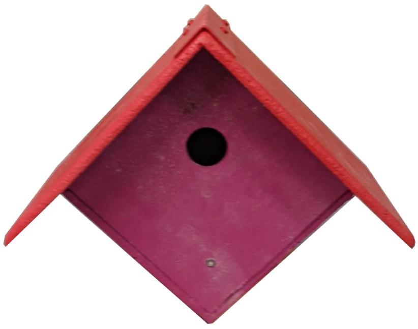 Purple garden nest box