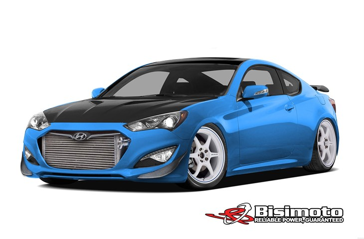 hyundai genesis coupe modified by bisimoto