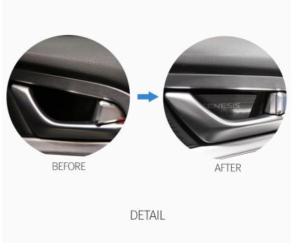 genesis g70 door handle catch plates 6