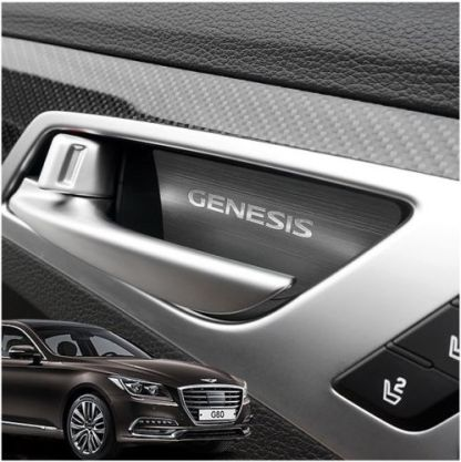 genesis g80 door handle catch plates 8