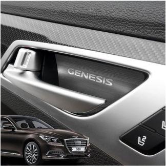 genesis g80 door handle catch plates 8