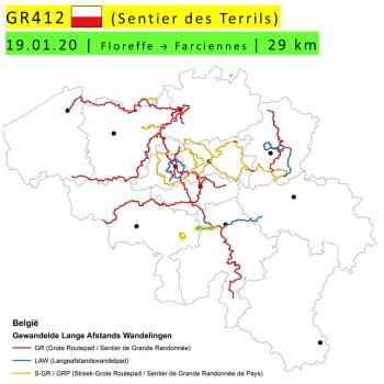 19-01-2020 – GR412 – Floreffe → Farciennes