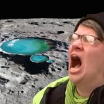 Liberal projectile tears found to be the source of water on the moon