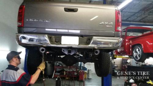 camouflage exhaust tips custom work
