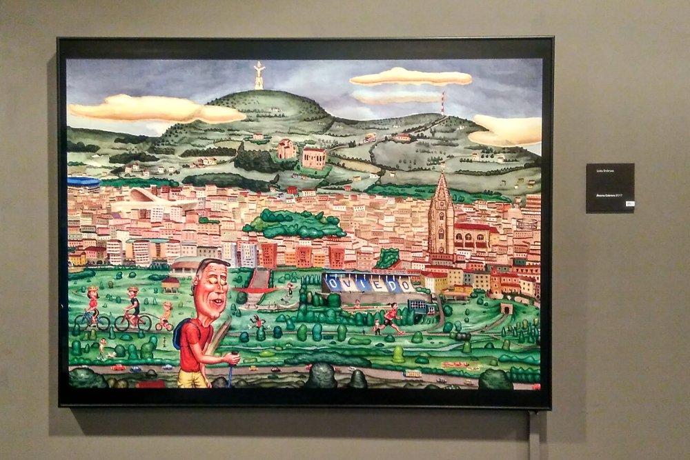 """""""Uviéu embruxa"""", visión de la ciudad por Carlos Álvarez Cabrero"""