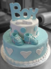 Cute Baby Shower Cakes For A Boy