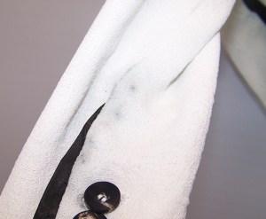 Helmut Lang Ladies Jacket - Leather Trim Bleed 002