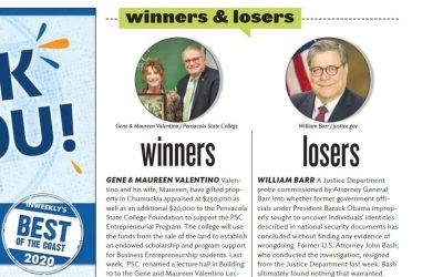Gene & Maureen Valentino | InWeekly Winners and Best of the Bay 2020