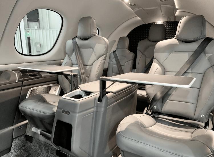The Vision Jet cabin