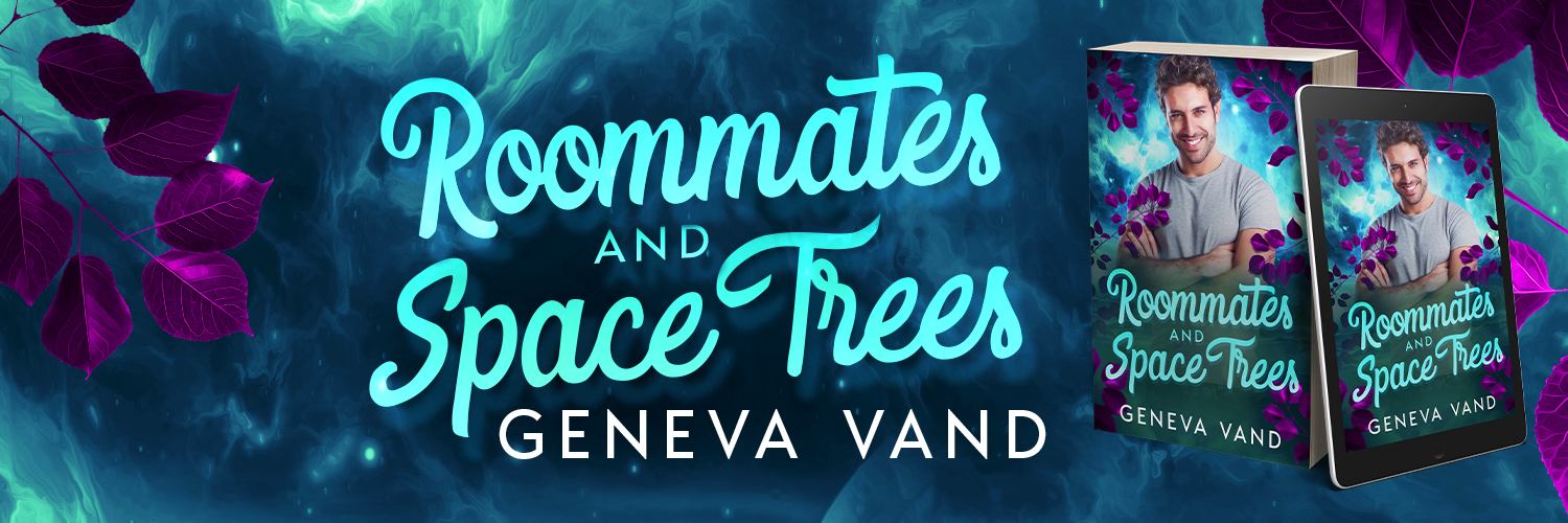 banner image promoting Roommates and Space Trees by Geneva Vand
