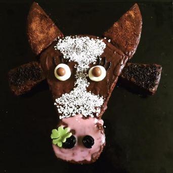 gâteau vache