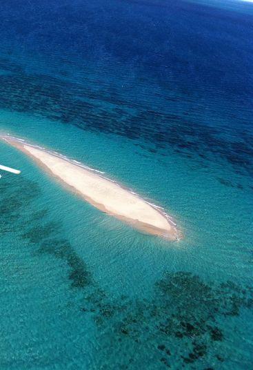 Vlasoff Sand Cay Aerial
