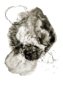 Metamorphosis 5 - Graphite on Paper