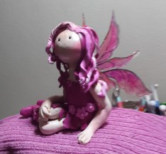 Pinky the Fairy - Polymer Clay