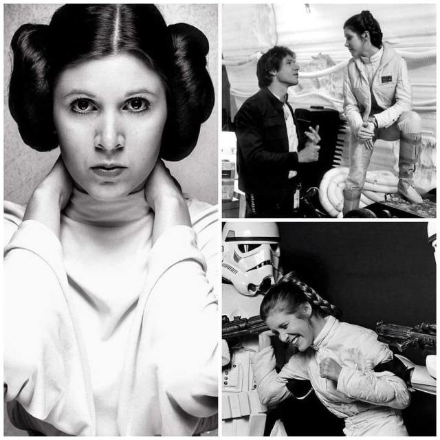 Carrie Fisher  1956 2016 RIP