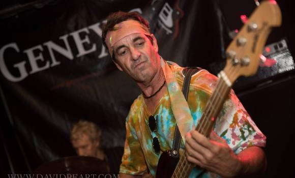 Jamie, bass guitarist, Genexis - Joes Waterhole