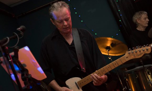 Jamie, lead guitar, Genexis - Tewantin Noosa RSL