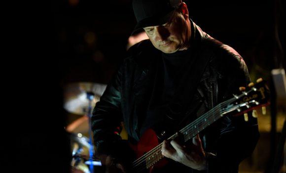 Nick, rhythm guitar, Genexis - Kin Kin Horse Ride