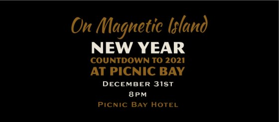 New Year's Eve 2021 Magnetic Island live music