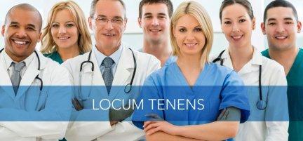 Healthcare Professionals -Locum Tenens