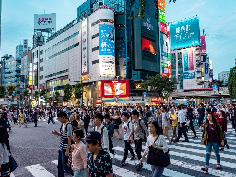 How do people live and work in Japan?